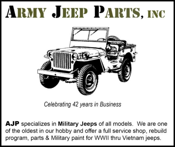 Army Jeep Parts